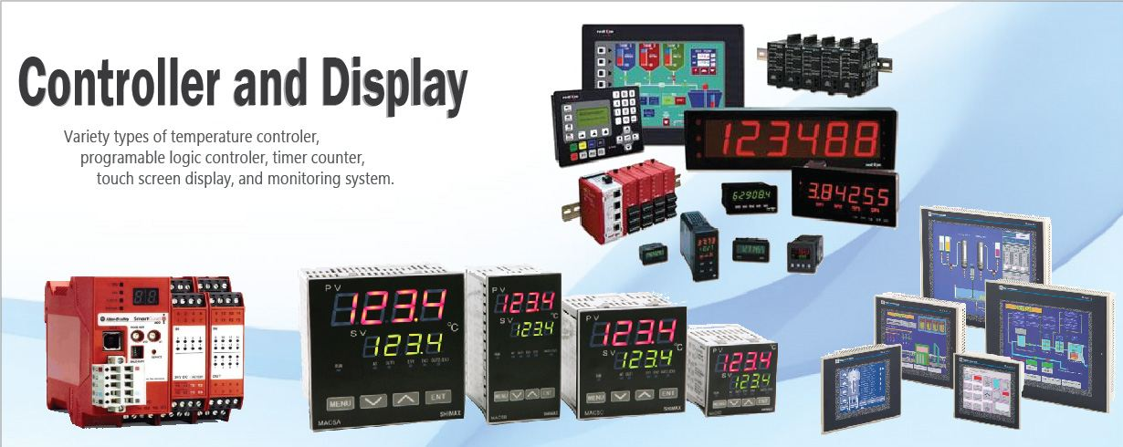 controler and display